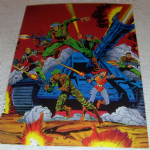 1994 GI Joe 30th Salute #32 cover gi joe #1 Trading card